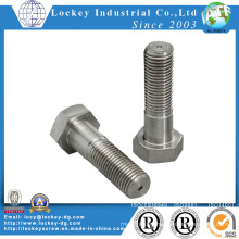 Stainless Steel Hex Bolt Passivated